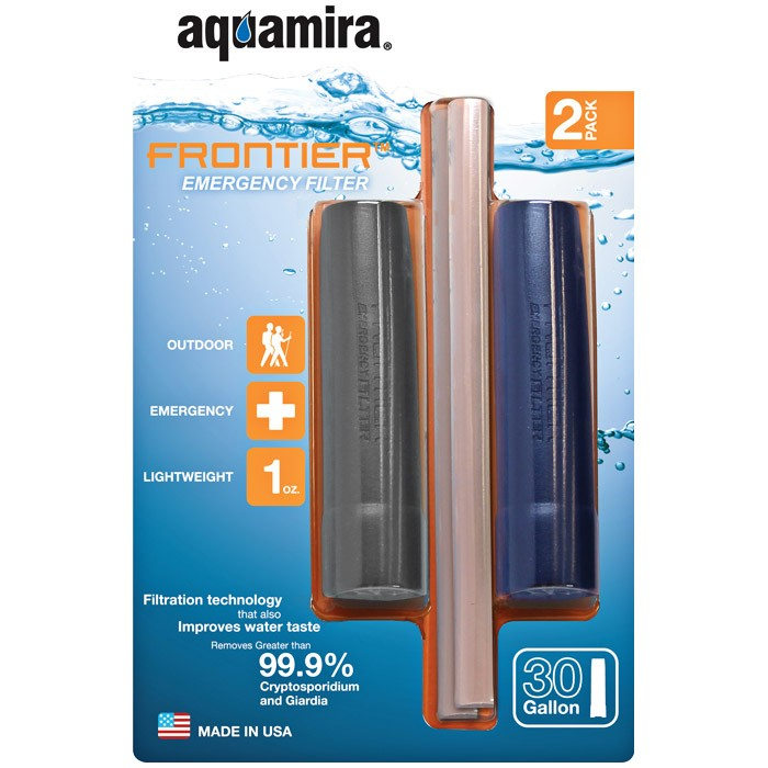Aquamira Water Filter Straw