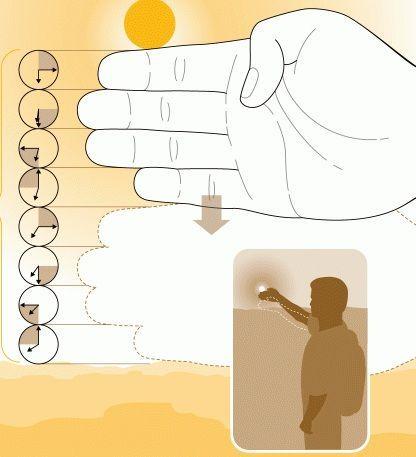 Daylight Finger Measuring