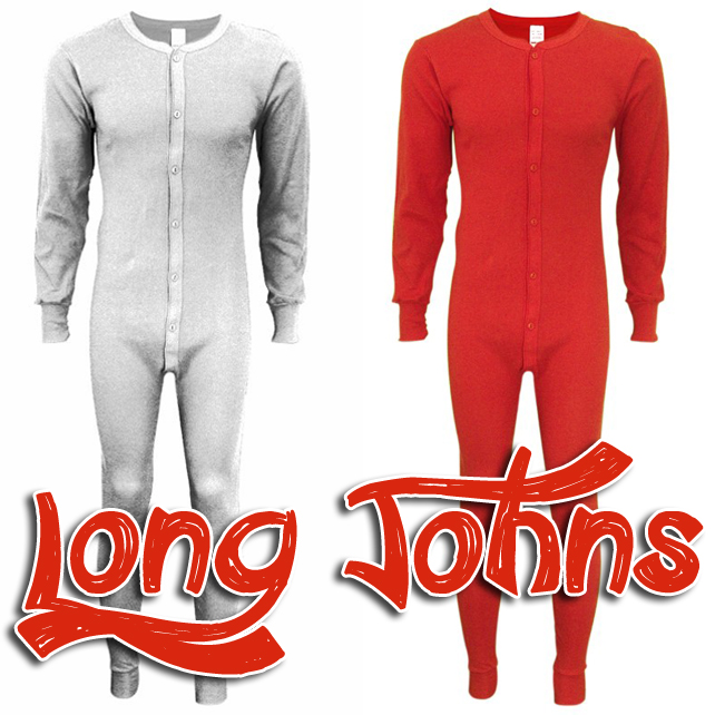 100 % Cotton Long Johns / Outersports.com