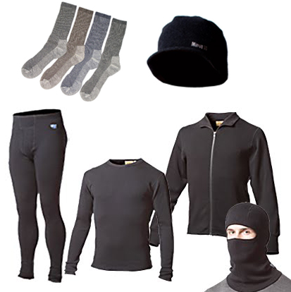 Base Layer Thermal Underwear