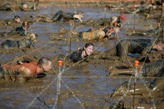 Tough Mudder Crawl