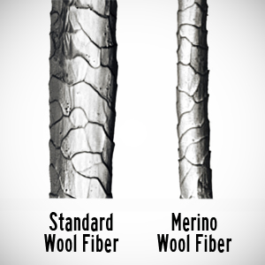 Merino wool socks provide non itchy thermal insulation for your feet