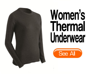 Womens thermal underwear