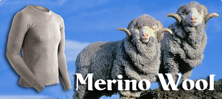 merino wool thermal underwear
