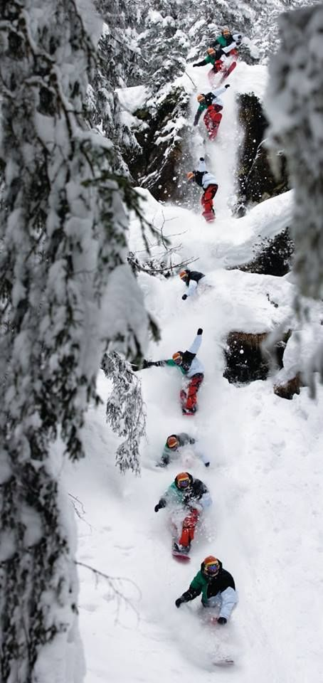 snowboarding open shutter
