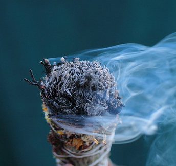 Burning Sage