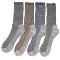 Merino Wool Outdoor Trail Socks (4 Pair)