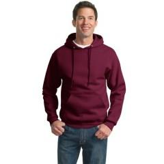 Jerzees SUPER SWEATS Pullover Hooded Sweatshirt for Men