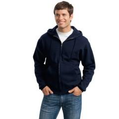 Jerzees Super Sweats Full-Zip Hooded Sweatshirt for Men