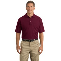 CornerStone Industrial Pocket Pique Polo for Men