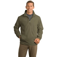 Port Authority 1/2-Zip Wind Jacket for Men