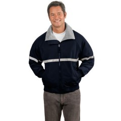 Port Authority Challenger Jacket with Reflective Taping for Men