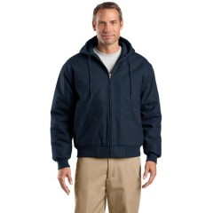 CornerStone Duck Cloth Hooded Work Jacket for Men