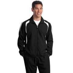 Sport-Tek Colorblock Raglan Jacket for Men