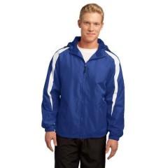 Sport-Tek Fleece-Lined Colorblock Jacket for Men