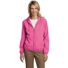 Port Authority Hooded Essential Jacket for Women