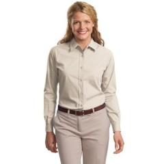 Port Authority Long Sleeve Easy Care Soil Resistant Shirt for Women