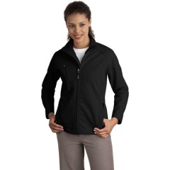 Port Authority Textured Soft Shell Jacket for Women