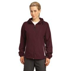 Sport-Tek Colorblock Hooded Jacket for Women