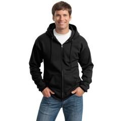 Port & Company Full-Zip Hooded Sweatshirt for Men