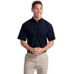 Port Authority Short Sleeve Easy Care Soil Resistant Shirt for Men