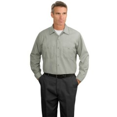 CornerStone Long Sleeve Industrial Work Shirt for Men