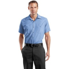 CornerStone Short Sleeve Industrial Work Shirt for Men