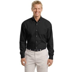 Port Authority Tall Long Sleeve Twill Shirt for Men