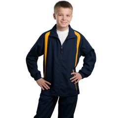 Sport-Tek Colorblock Raglan Jacket for Youth