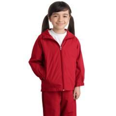 Sport-Tek Hooded Raglan Jacket for Youth
