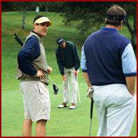 Group of Men Golfing