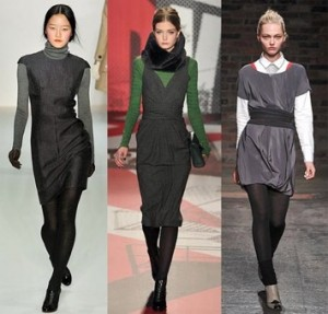 Your Favorite Fall Dresses Utilizing Long Underwear For Style