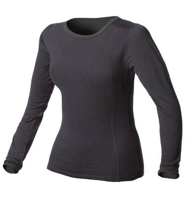 Minus33 100% Merino Wool Blend Black Top for Women